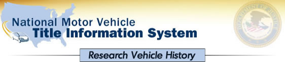 Image of National Motor Vehicle Title Information System