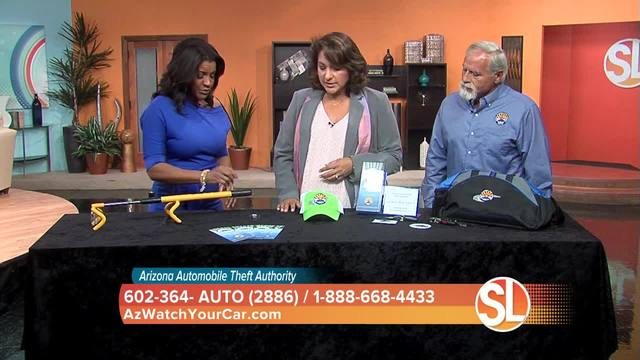 Arizona Automobile Theft Authority on Sonoran Living - Feature Susan Casper with Sonoran Living- Amanda O'Haloran and Fred Zumbo with Arizona Automobile Theft Authority
