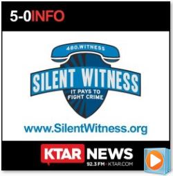 Silent Witness Logo for 5-0 Interview with Fred Zumbo