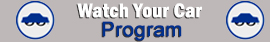 Banner for the Watch Your Car Program
